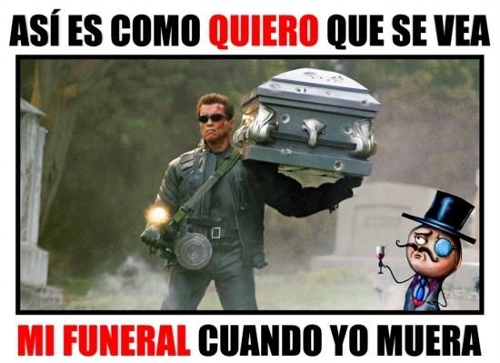 mi funeral cuando muera