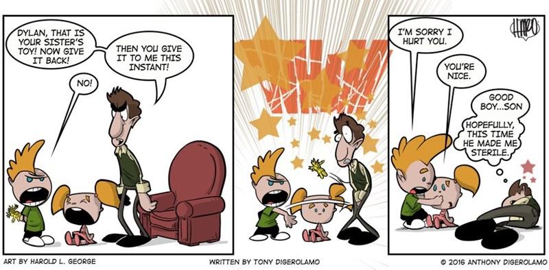web comics kids parenting Aren't They Sweet