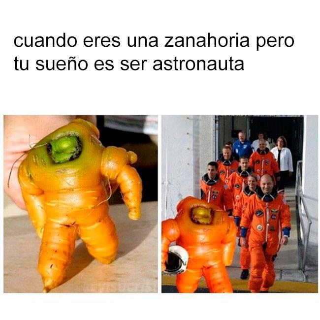 eres zanahoria