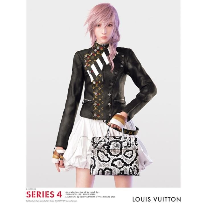 final fantasy lightning louis vuitton interview