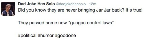 twitter,star wars,list,kylo ren,Han Solo