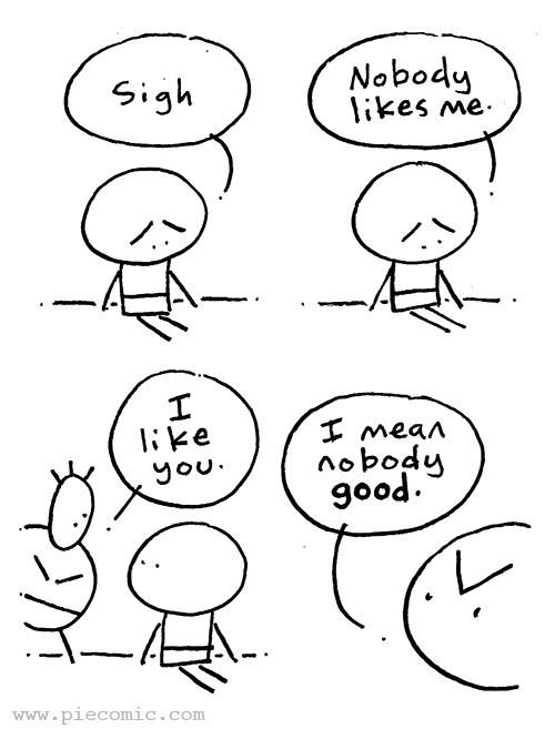 web comics friendship You Don't Count