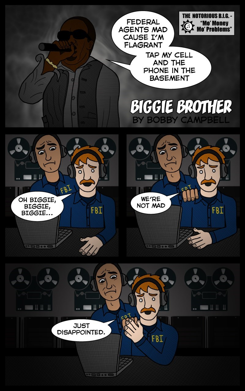 web comics disappointed Oh Biggie, Biggie, Biggie Can't You See? We Just Want the Best for You