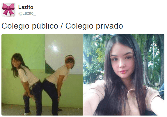 escuela privada publica