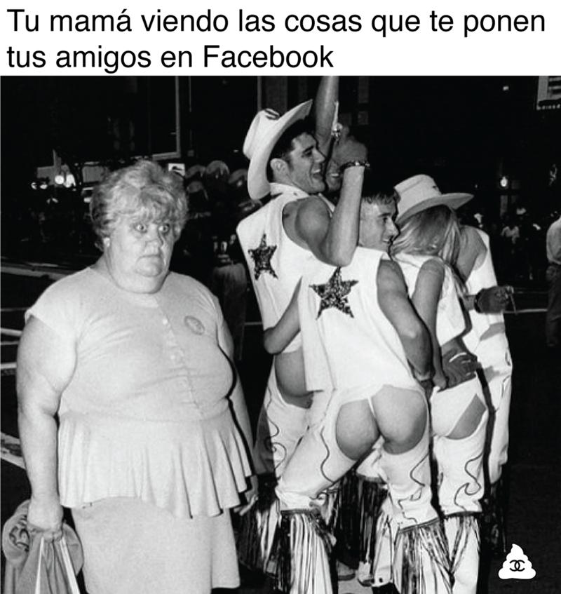 amigos en facebook