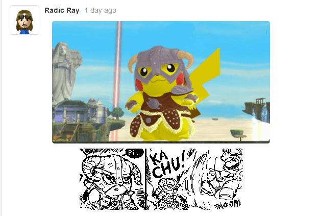 Skyrim pikachu - 8604937984