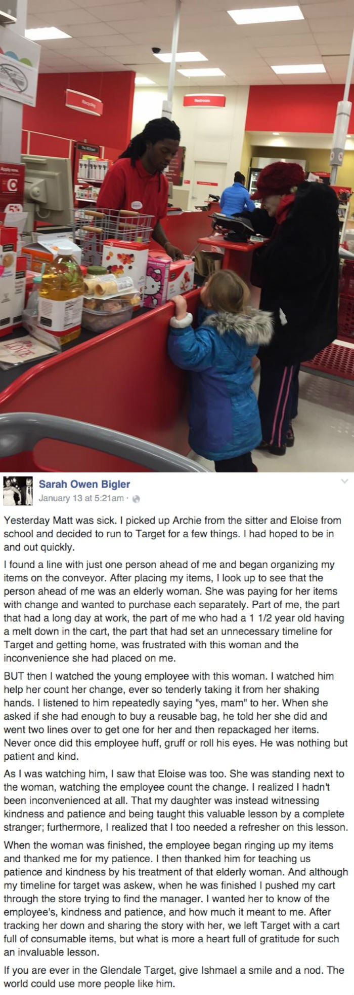 The Kindness of One Target Employee is a Reminder To Us All to Have Patience