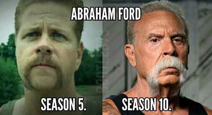 abraham ford,The Walking Dead