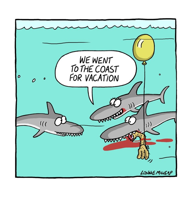 web comics shark How Lovely