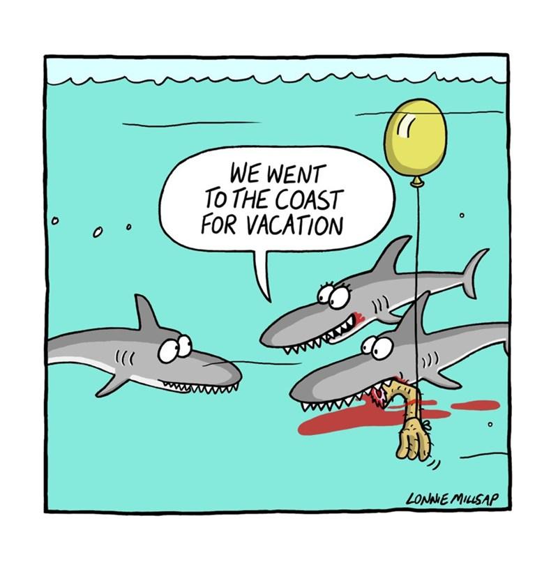 web comics shark How Lovely
