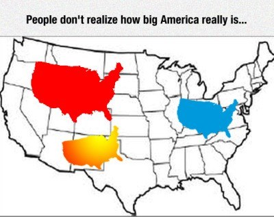 people dont realize how big america really is