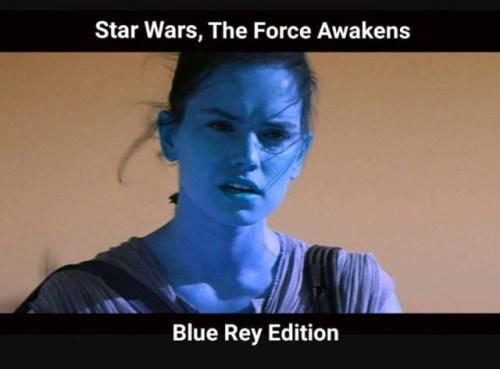 funny puns star wars blue rey
