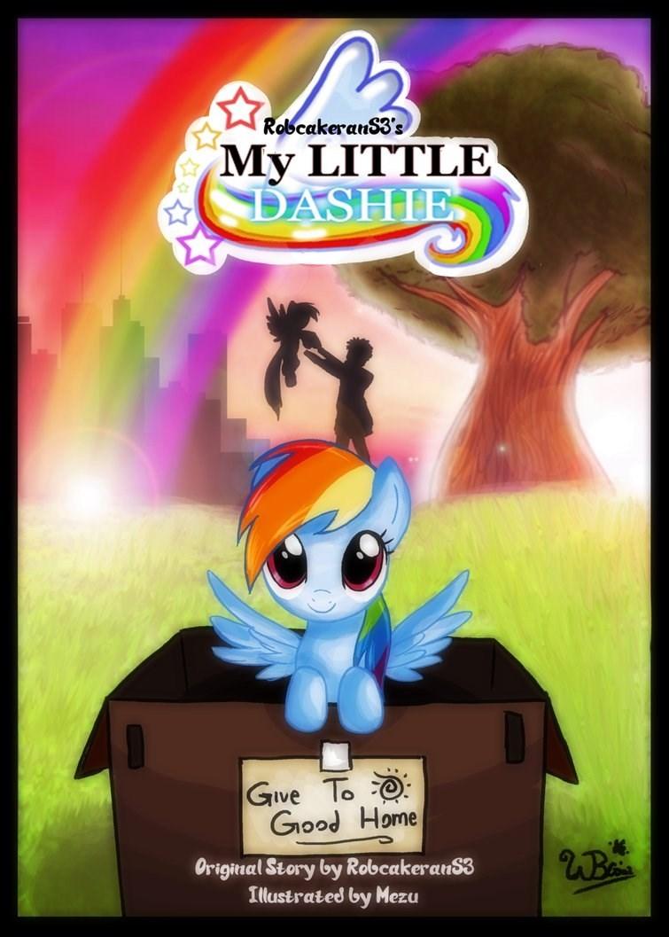 my little dashie rainbow dash - 8605312768