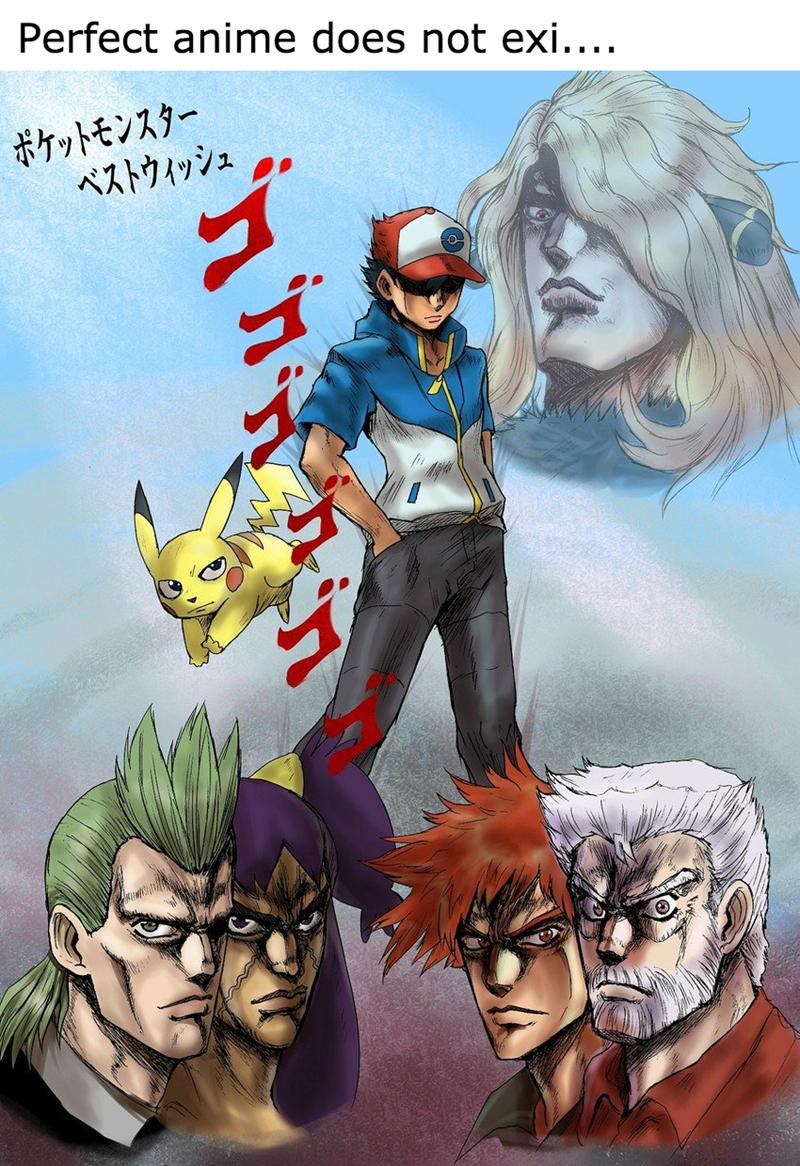 crossover,Pokémon,jjba