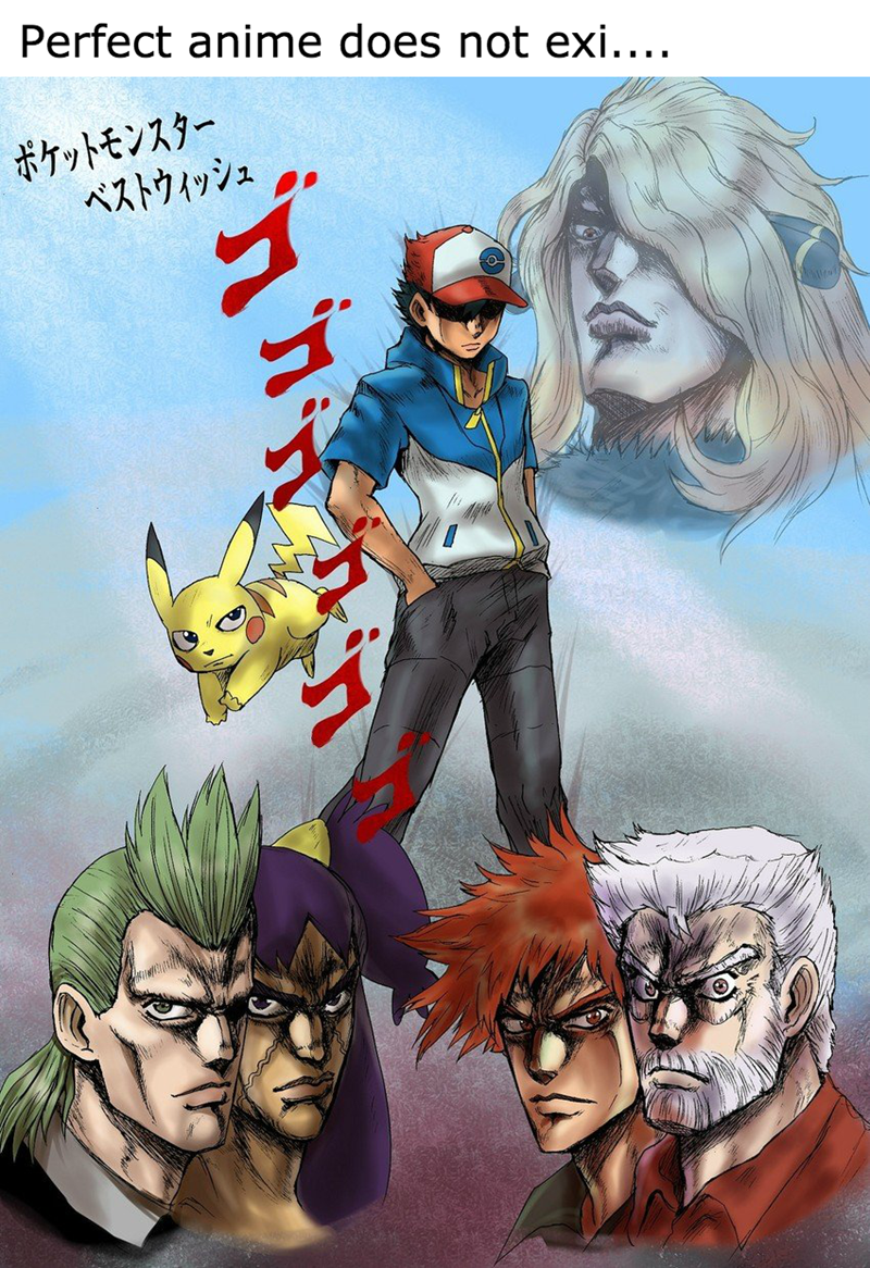 crossover,Pokémon,JoJo's Bizarre Adventure