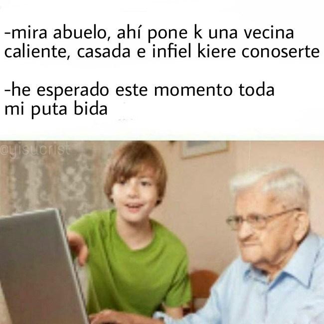 abuelo internauta