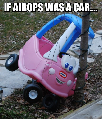 IF AIROPS WAS A CAR....