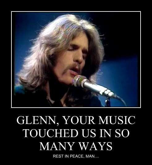 GLENN, YOUR MUSIC TOUCHED US IN SO MANY WAYS