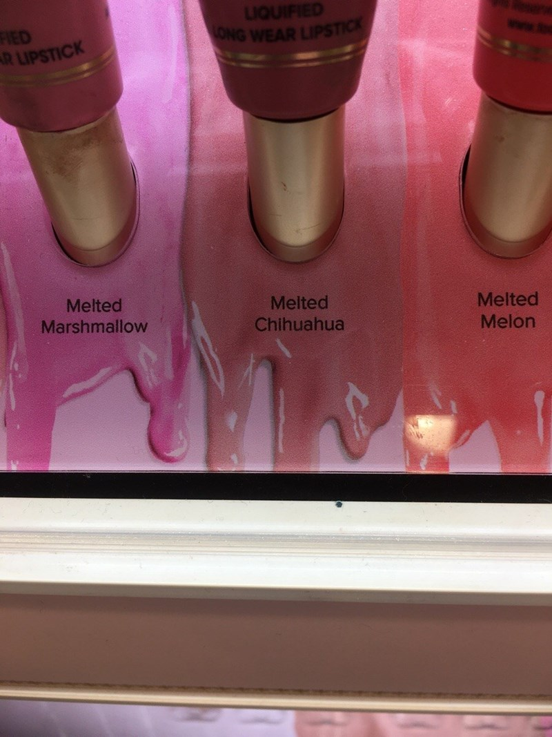 funny fail image nail polish name