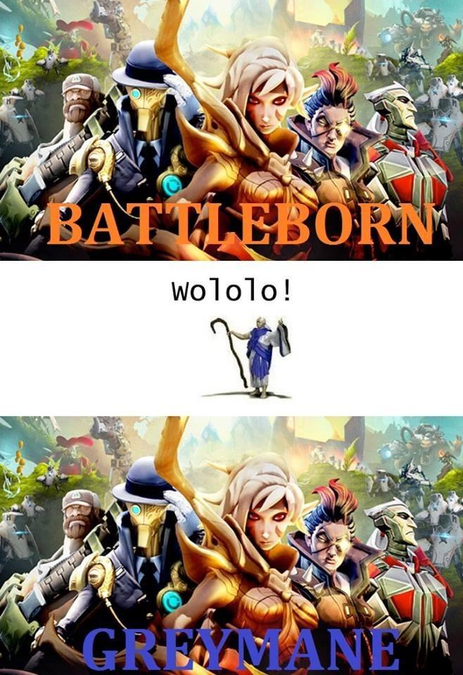 battleborn heroes of the storm greymane - 8606025984