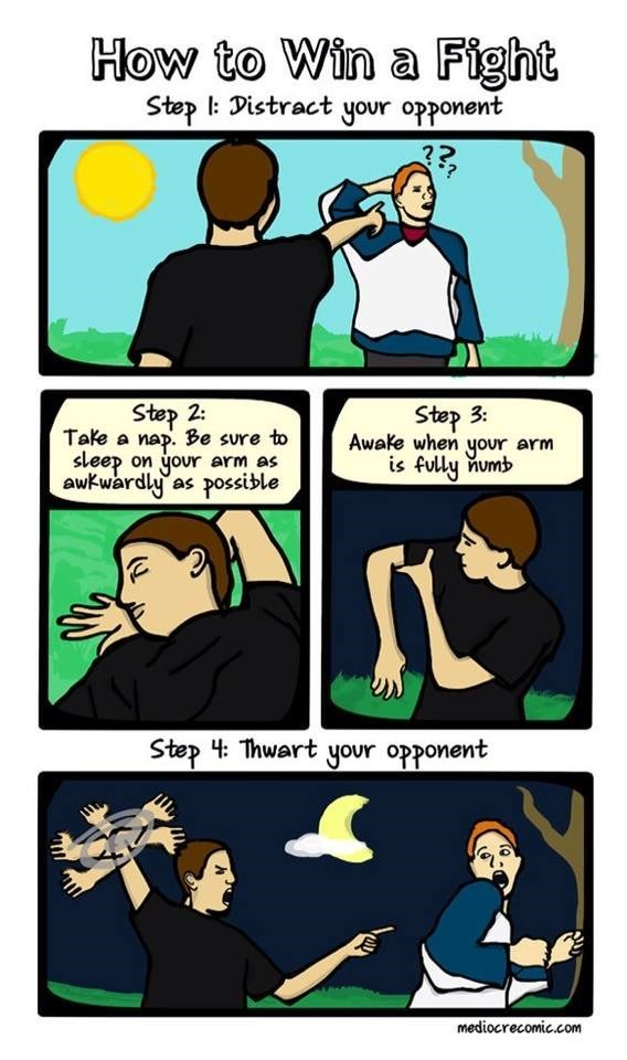 distractions fight web comics - 8606083328