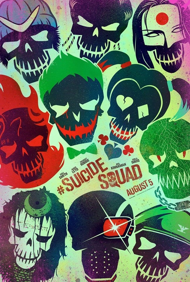 suicide squad poster Suicide Squad Releases New Posters in Preparation for the Latest Trailer Release