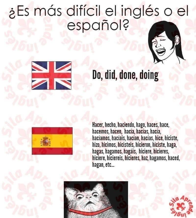 espanol vs ingles