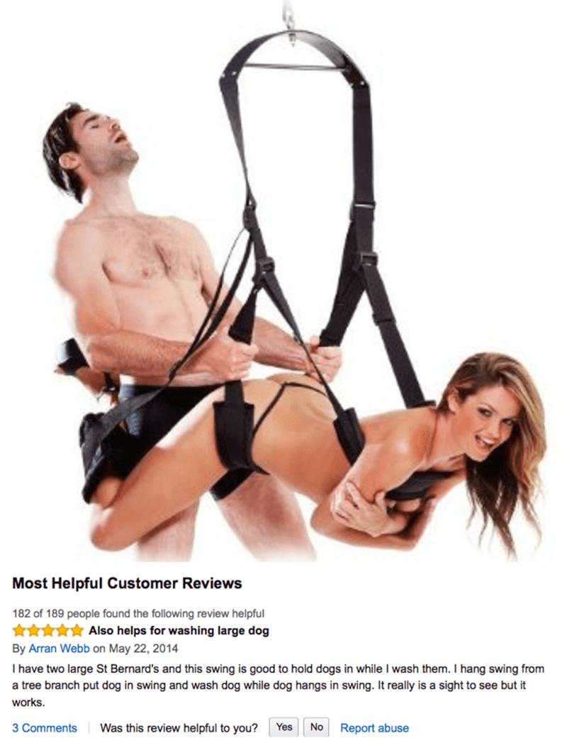amazon review sex swing