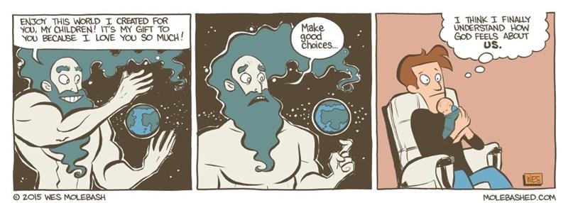 web comics god babies I Hope They're Eating Enough