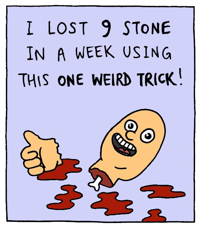 web comic diet That Doesn't Seem Like a Healthy Diet Plan