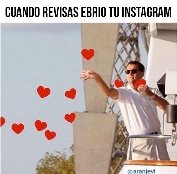 revisar el instagram
