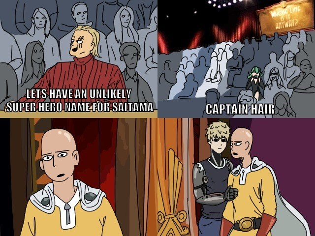 whose line is it anyway one punch man