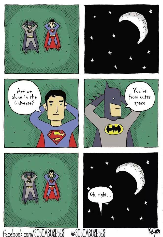 web comics superman batman So.... No?