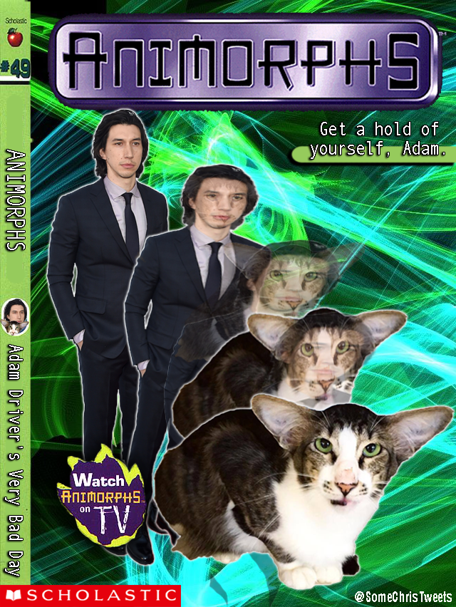 adam driver cat animorphs