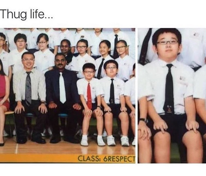 funny memes middle finger class photo