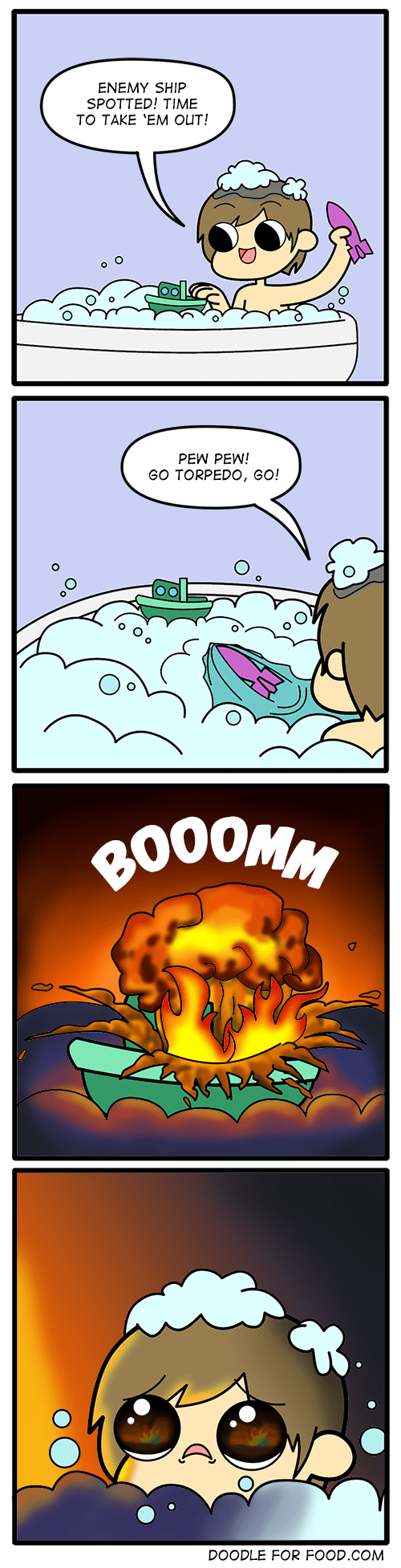 web comics war bath Torpedoes Aren't Fun For Anyone