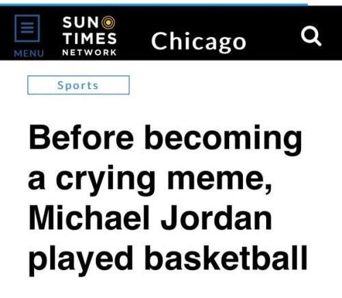 before crying meme michael jordan basketball