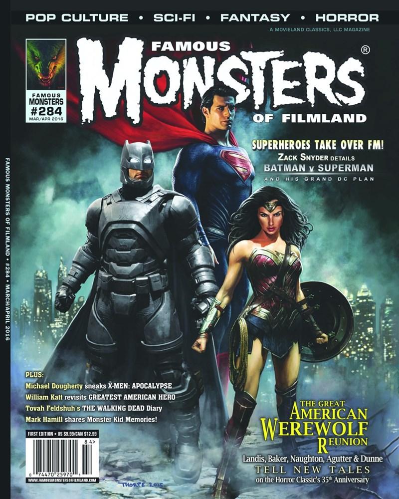 batman v superman magazine Batman V Superman Characters Make for an Ominous Magazine Cover