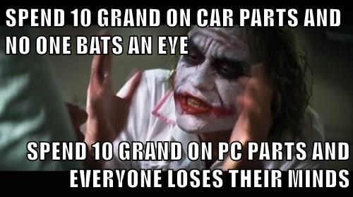 memes cars PC everyone loses their mind - 8606918400