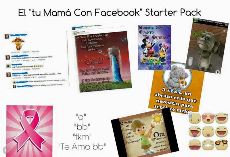 mama en facebook