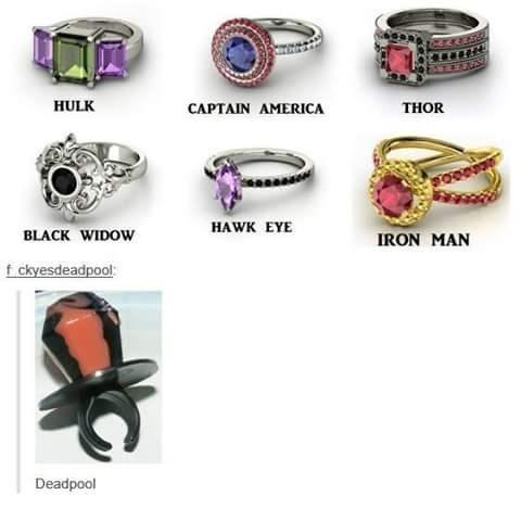 rings,deadpool,ringpops,superheroes