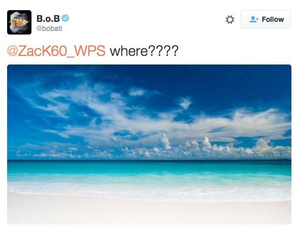 Sky - B.o.B Follow @bobatl @ZacK60_WPS where????
