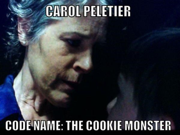 Cookie Monster,carol peletier
