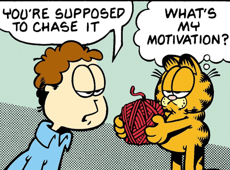 Garfield the cat comics