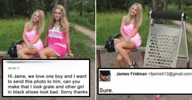 James Fridman photoshopping trolls that are awesome