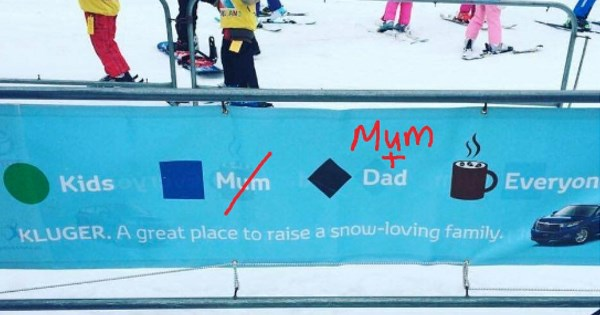 twitter FAIL list winter skiing sexist
