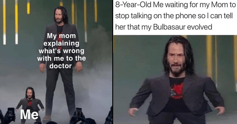 List of Mini Keanu Reeves memes