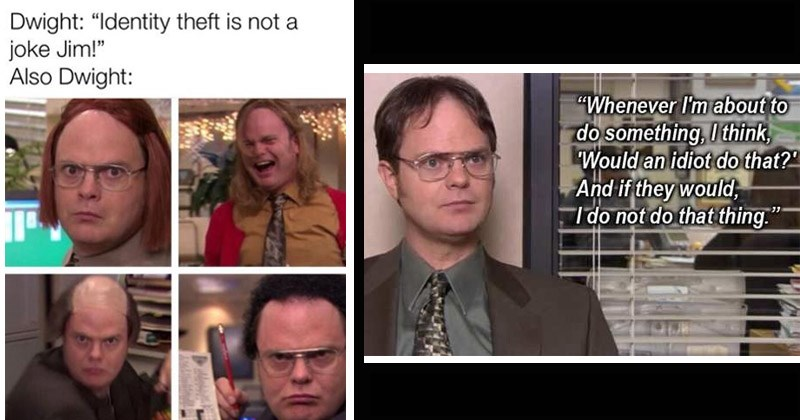 14 Idiotic Dwight Schrute Memes You Can Save For A Rainy Day
