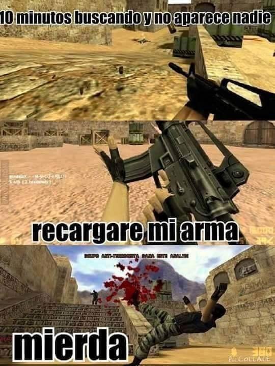 recarga arma