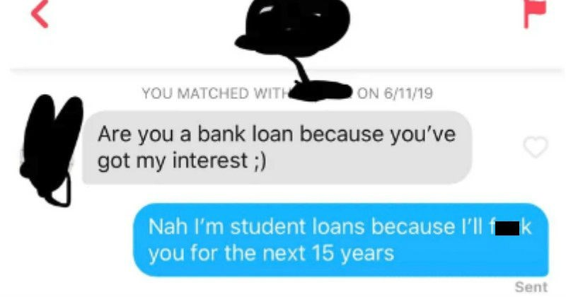 pick up line fail on tinder